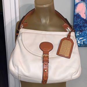 Ralph Lauren handbag light tan shoulder bag EUC
